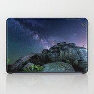 Milky Way Rock iPad Case