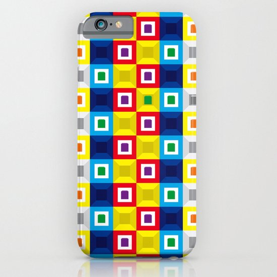 Squares Pattern iPhone & iPod Case