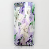 iPhone & iPod Case featuring Lilies by Kr_design