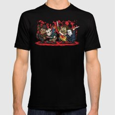 Where the Slashers Are (Full Color) SMALL Mens Fitted Tee Black