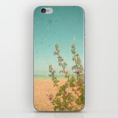 Flowers by the Sea iPhone & iPod Skin