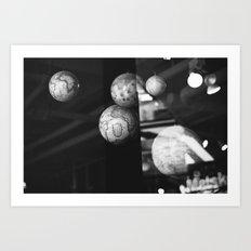 travel dreams Art Print