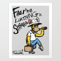 Fear And Loathing In Spr… Art Print