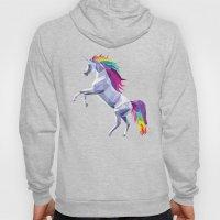 Geometric Unicorn Hoody