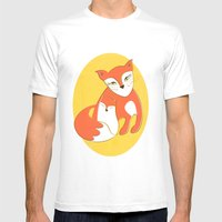 Fox Family Mens Fitted Tee White SMALL