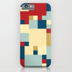 Squares Pattern iPhone 6s Slim Case