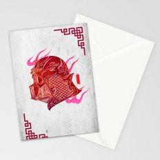 Red Darth Stationery Cards