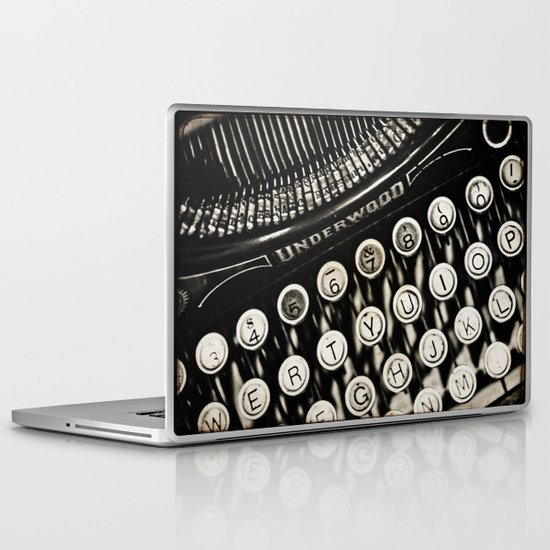 Underwood  typewriter  Laptop & iPad Skin