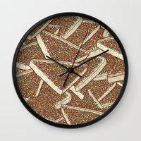 Fairy Bread Wall Clock