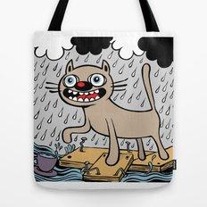 RAIN CATS Tote Bag