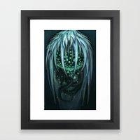 The Ice Demon Framed Art Print