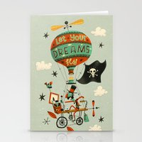Make Your Dreams Fly Stationery Cards
