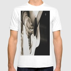 Pickin' White Mens Fitted Tee SMALL