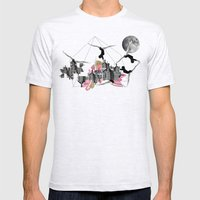 Magical Attack Mens Fitted Tee Ash Grey SMALL
