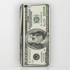 DOLLAR$ and SENSE iPhone & iPod Skin
