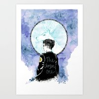 Auror Harry Art Print