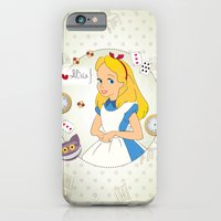 iPhone & iPod Case featuring I {❤} Alice In Her Wonderland by lilycious
