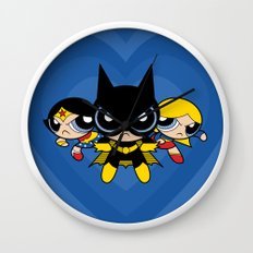 Supertough Girls Wall Clock