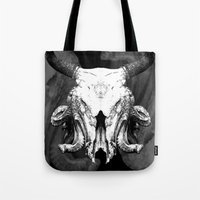 SquidBull Skull Tote Bag