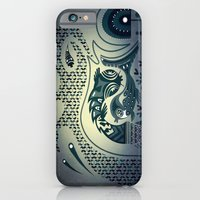 iPhone & iPod Case featuring Midnight swirls by Paul Collis