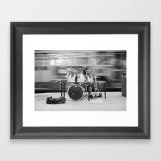 Varon Andel Drummer Framed Art Print
