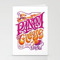 Panem Et Circenses Stationery Cards
