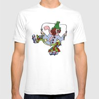 The Great Pretender - Sk… Mens Fitted Tee White SMALL