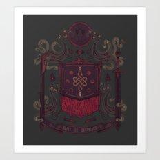 Born in Blood Art Print