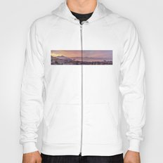 Napoli, landscape with volcano Vesuvio and sea Hoody