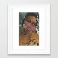 Zirconia Framed Art Print