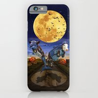 iPhone & iPod Case featuring Halloween - Trick or Treat by Dolphin and Cow