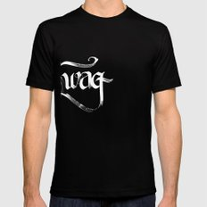 Swag Black Mens Fitted Tee SMALL