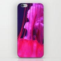 Pink Jellyfish iPhone & iPod Skin