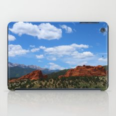 Garden Of Gods View With Kissing Camels iPad Case