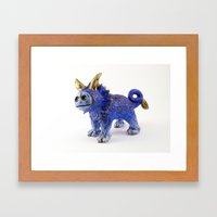 Regulus the Star Lion Framed Art Print