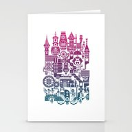 Stationery Cards featuring Castle Mama by C86 | Matt Lyon