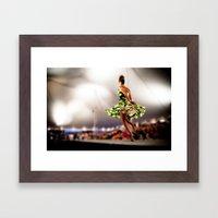 the catwalk Framed Art Print