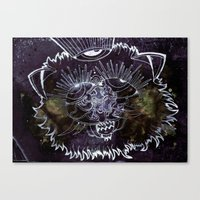 The Pussy who saw the end... Canvas Print