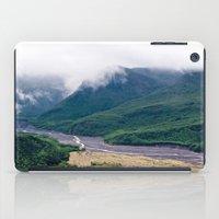 Mount St. Helen's River iPad Case