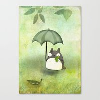 My friend from Japan Canvas Print