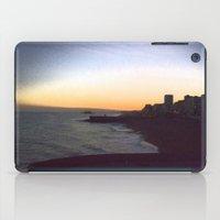 Seafront sunset iPad Case
