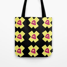 Kiss X Tote Bag