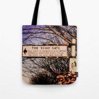 Echo Gate Tote Bag