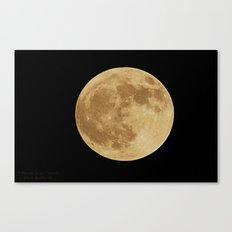 Our Raising Moon Canvas Print