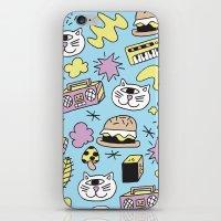Cat Jams iPhone & iPod Skin
