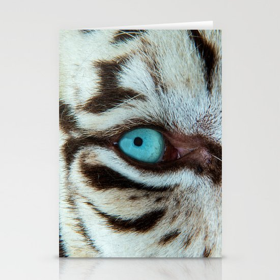 WHITE TIGER BEAUTY Stationery Card