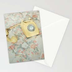My Heart Skipped a Beat Stationery Cards