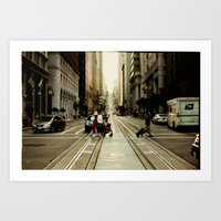 San Francisco Hills 2 Art Print
