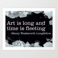 Fleeting Art Print