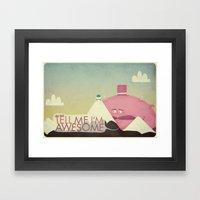 Satan Tempts Jesus (by P… Framed Art Print
